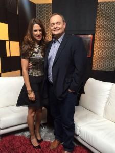 Guiller Tell entrevista a Laura Aiello por Globovision en Hablan Las Paredes