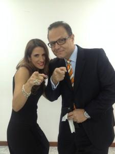 Laura Aiello con Eduardo Rodriguez Giolitti