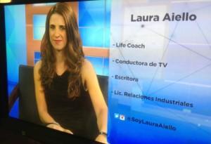 Laura Aiello en el Programa de Cerca Canal IVC