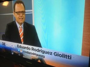 Programa de Cerca con Eduardo Rodriguez Giolliti