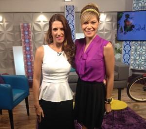 Con Marielene Gonzalez en Mujeres en Todo