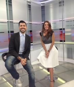 Dereck Blanco y Laura Aiello por Globovision