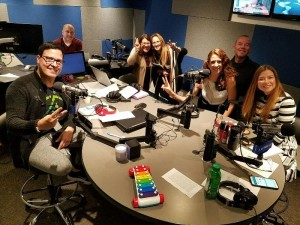 En la radio con Raul TV Gonzalez y Laura Aiello