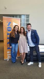 En la radio en Miami con Jessica Fox y