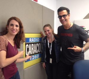 En radio Caracol El gato entrevista a Laura Aiello