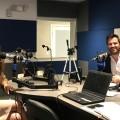 Fotos en la radio 107.1