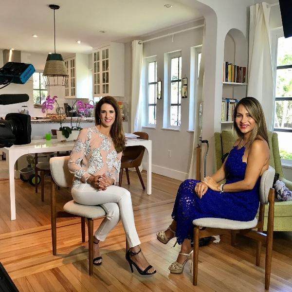 Laura Aiello reportaje para Telemundo