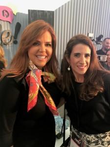 Maria Celeste Arraras con Laura Aiello Al Rojo Vivo