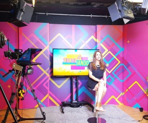 Programa de TV Trendiando Laura Aiello