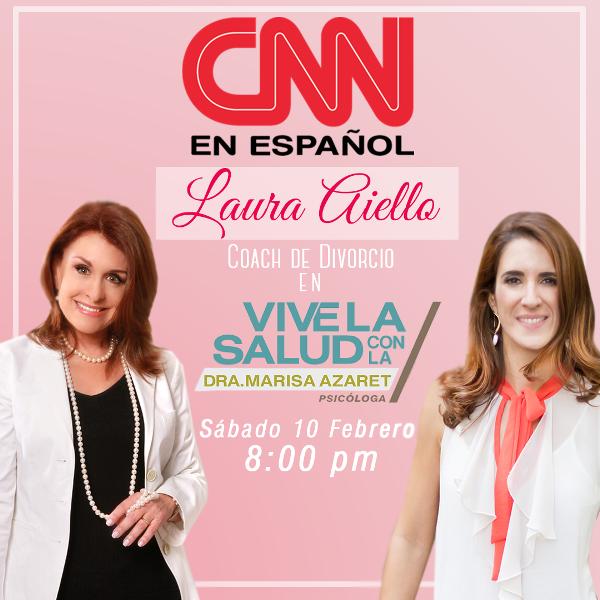 CNN Laura Aiello en el programa Vive la Salud