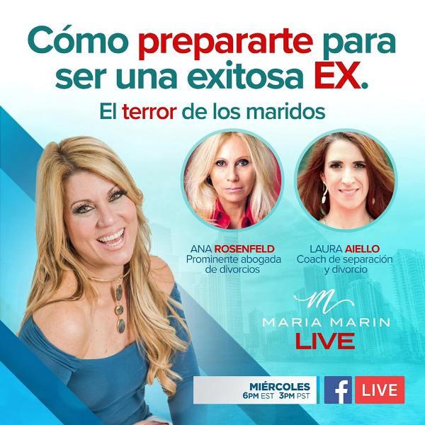 Maria Marin con Laura Aiello Como prepararte para ser una exitosa EX